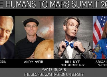 Speaking at the 2016 Humans to Mars Summit