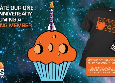 Join Astronaut Abby To Celebrate One Year in Orbit