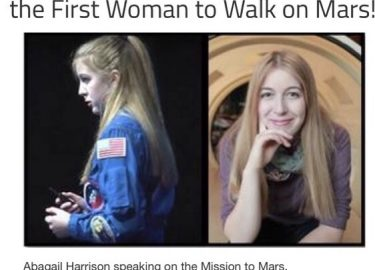 My NASA Expert Virtual Visit: One Woman's Journey To Become The First Woman To Walk On Mars