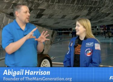 Astronaut Abby Appearance on the Smithsonian STEM in 30 Show: The Women Paving the Way to Mars