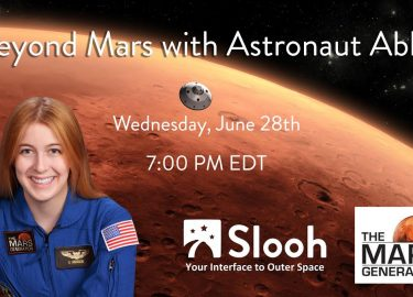 Beyond Mars with Astronaut Abby – Slooh Show To View Saturn Live