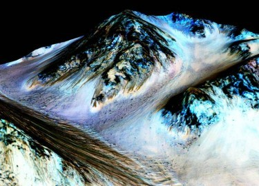 Press Release: NASA finds water on Mars: Discovery may make Mars exploration easier than The Martian movie portrays