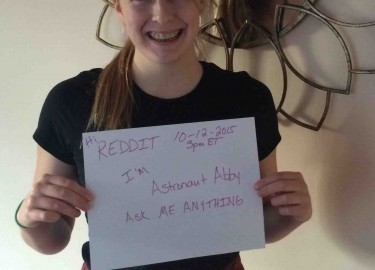 reddit: Astronaut Abby Ask Me Anything October 12, 2015