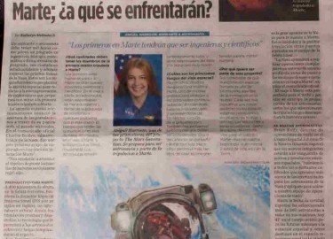 The Mars Generation In The News in Colombia
