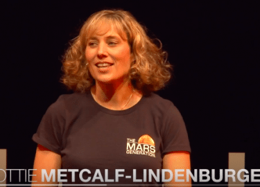 TEDx | Dorothy (Dottie) Metcalf-Lindenburger | The Mars Generation