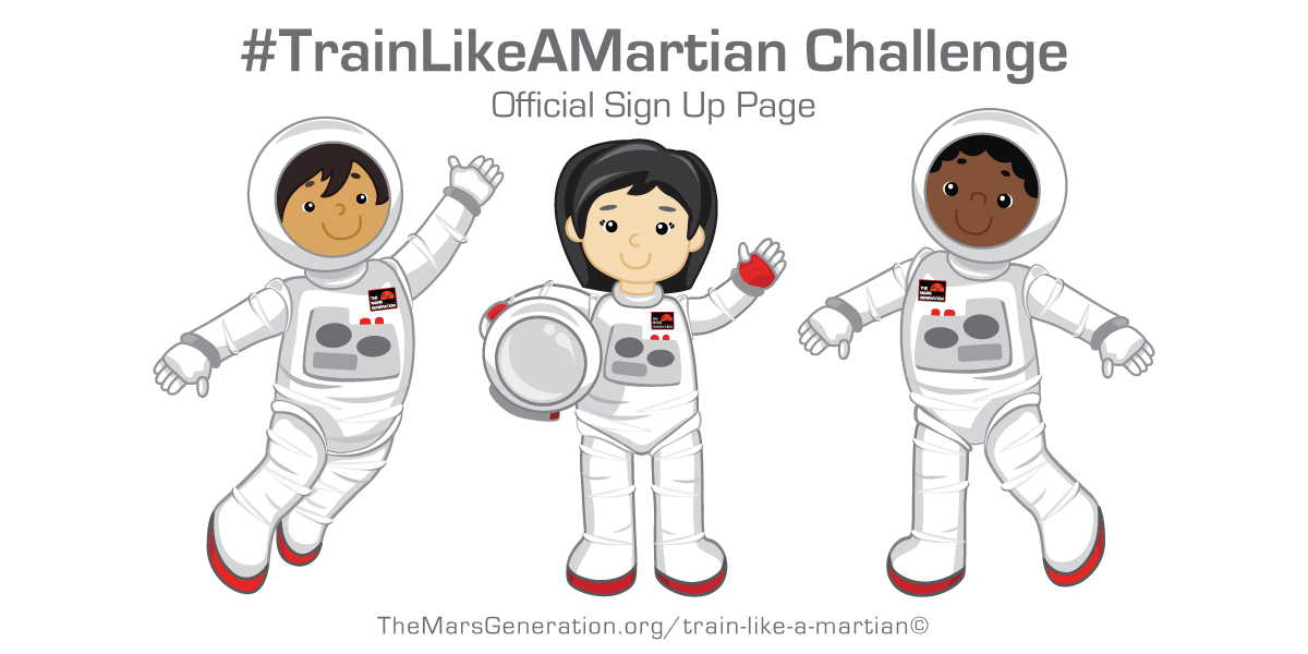 Train Like A Martian Rewards and Prizes The Mars Generation
