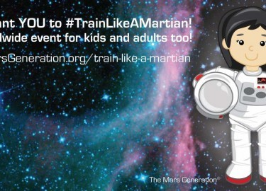 #TrainLikeAMartian: 8 Ways You Can Get Involved