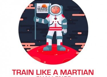 Get Moving And Challenge Your Friends To #TrainLikeAMartian
