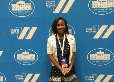 TMG Student Space Ambassador Invited to White House Women's Summit