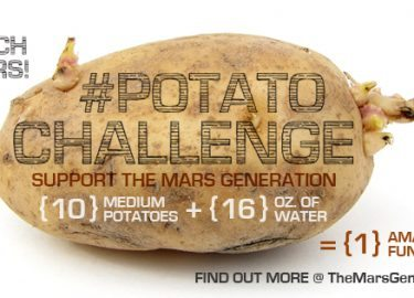 It's Back: Announcing the #PotatoChallenge 2016