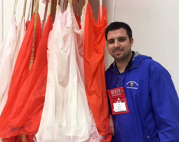 NASA Orion Parachute Test The Mars Generation Jeff