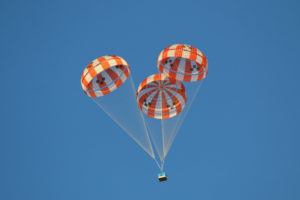 NASA Orion Parachute test
