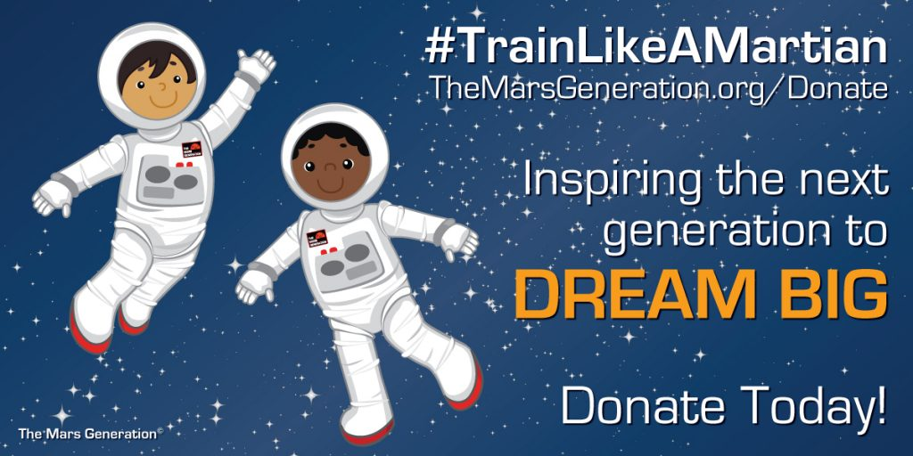 The Mars Generation Train Like A Martian Donate