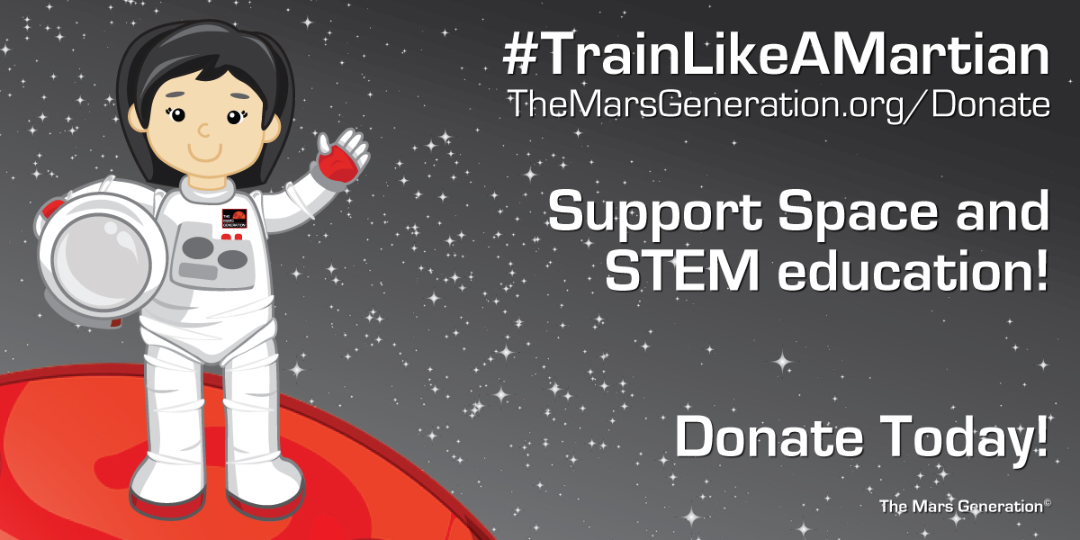 Train Like A Martian Donate