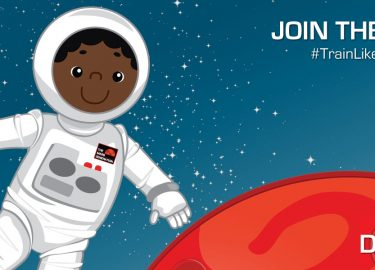 #TrainLikeAMartian Day 4 Challenge: Jump for the Moon