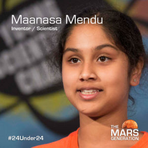 24 Under 24 Leaders and Innovators in STEAM and Space winner