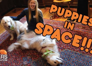 Should We Bring Puppies With Us To Mars? | #AskAbby Space and Science Show | The Mars Generation