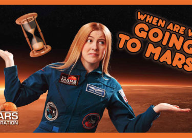 When Are We Going To Mars?   #AskAbby Space and Science Show   The Mars Generation